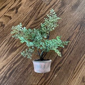 Pottery Barn Faux Southern Maid Houseplant